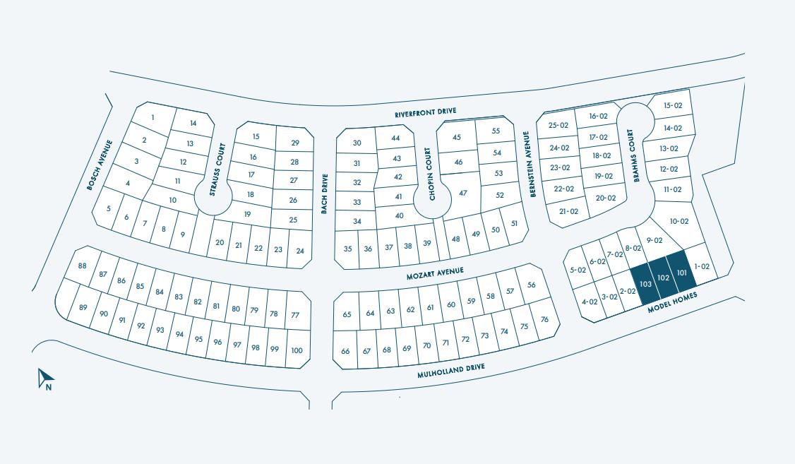 Haven River Islands Siteplan